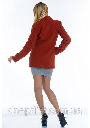 Пальто женское №13 (рыжий), фото 2