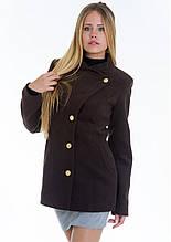 Пальто женское №13 (шоколад)
