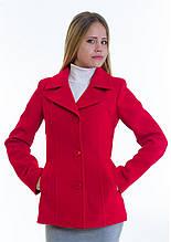 Пальто женское №15 (красный)