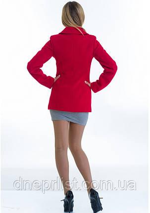 Пальто женское №15 (красный), фото 2