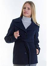 Пальто женское №15 (синий)