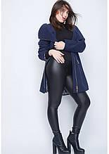 Пальто женское №46 (синий)