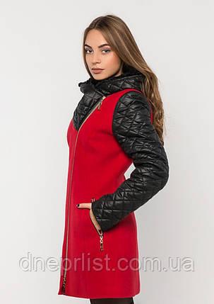 Пальто женское №43/1 ЗИМА (красный), фото 2