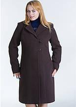 Пальто женское №22 (шоколад)