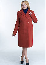 Пальто женское №22 ЗИМА (рыжий)