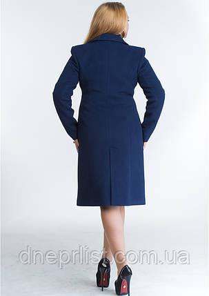 Пальто женское №22 ЗИМА (синий), фото 2
