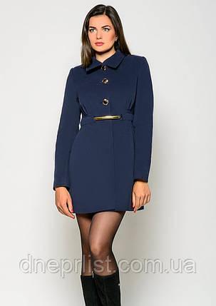 Пальто женское №3 (синий), фото 2