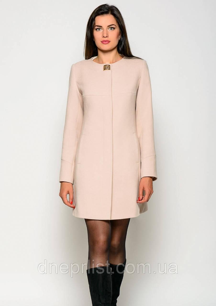 Пальто женское №41 (бежевый)