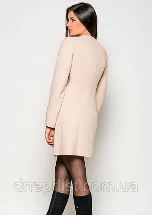 Пальто женское №41 (бежевый), фото 2