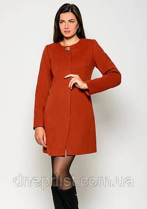 Пальто женское №41 (рыжий), фото 2