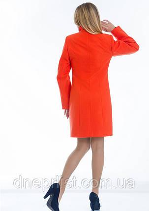 Пальто женское №4 ЗИМА (оранжевый), фото 2