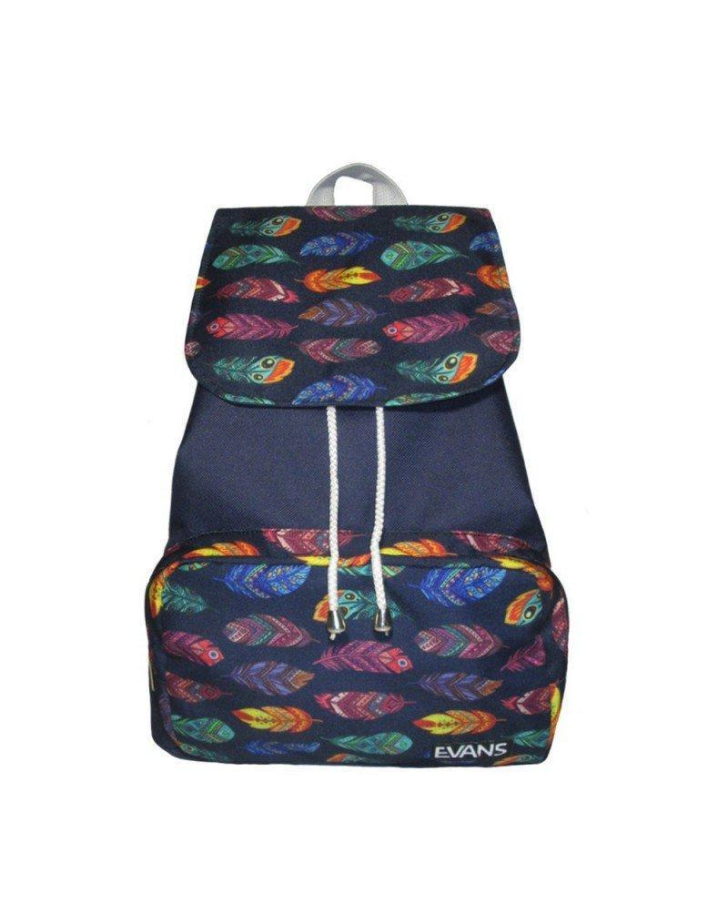 Рюкзак женский Evans Mary Feathers (рюкзак городской, жіночий рюкзак,