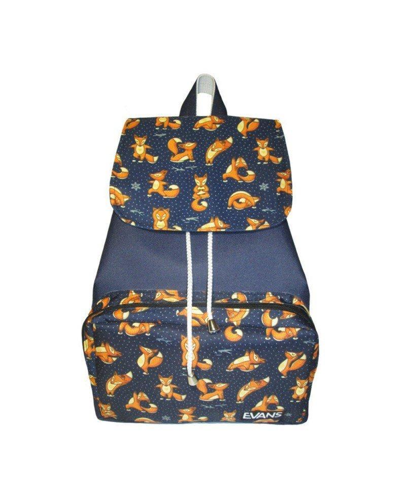 Рюкзак женский Evans Mary Foxes (рюкзак городской, жіночий рюкзак, сти