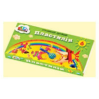 Пластилін ГАММА Малюки 6 кольорів