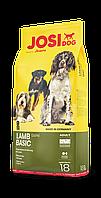 JosiDog Lamb Basic (22/14) - сухий корм з ягнятиною для дорослих собак