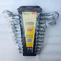 Набор ключей MasterTool 72-2112, рожково-накидные