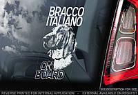 Бракко Итальяно (итальянский поинтер) стикер, фото 1
