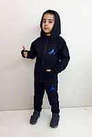 Теплый спортивный костюм унисекс Air Синий с перчаткой, фото 1