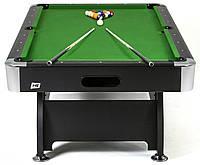 Бильярдный стол 7FT Black/Green