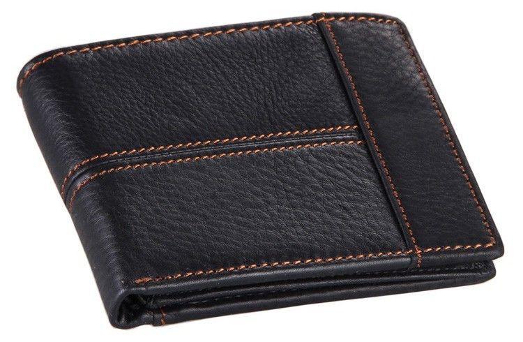 Кошелек мужской Vintage 14227 Черный, Черный
