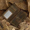 Гаманець чоловічий Vintage 14228 вінтажна шкіра Коричневий, Коричневий, фото 4