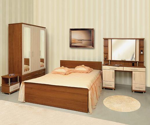 """Модульная спальня """"Дебют"""" комплект, фото 2"""