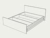 """Модульная спальня """"Дебют"""" комплект, фото 5"""