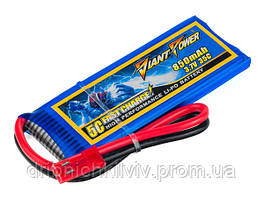 Аккумулятор Giant Power Li-Pol 850mAh 3.7V 1S 35C 7x30x52мм JST