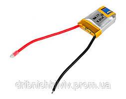 Аккумулятор Giant Power Li-Pol 100mAh 3.7V 1S 15C 7.5x16x20мм с защитой