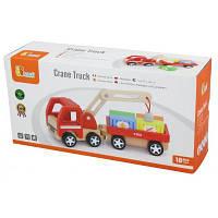 Развивающая игрушка Viga Toys Автокран (50690)