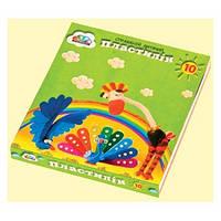Пластилін ГАММА Малюки 10 кольорів