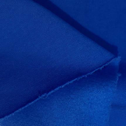 Футер трехнитка с начесом бордовая, фото 2