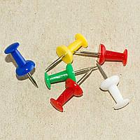 Кнопка-гвоздик (цветные) 4841 30шт/уп.