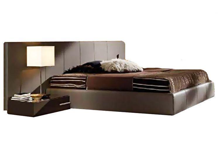 Ліжко з м'якою спинкою Алерго (160 х 200) КІМ 1 категорія