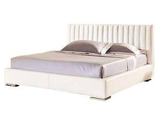 Ліжко з м'якою спинкою з підйомним механізмом Лорен (160 х 200) КІМ 1 категорія