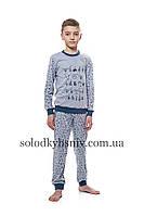 Піжама дитяча ELLEN для хлопчика Різдвяний настрій р.134-158 - 027/004