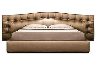 Ліжко з м'якою спинкою з підйомним механізмом Валентіно (160 х 200) КІМ 1 категорія