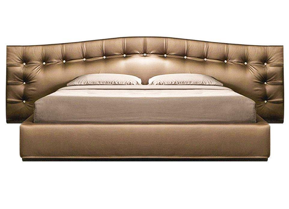 Ліжко з мякою спинкою спальню Валентіно (160 х 200) КІМ 1 категорія