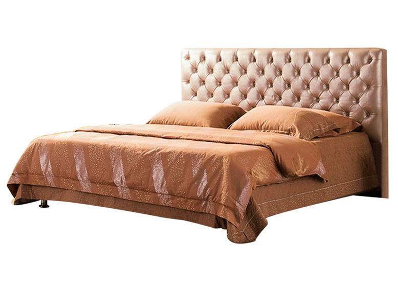 Ліжко з м'якою спинкою Деко (160 х 200) КІМ 1 категорія