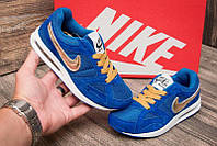 Кроссовки детские Nike Air Max, синий, размер 31 (стелька 20 см)