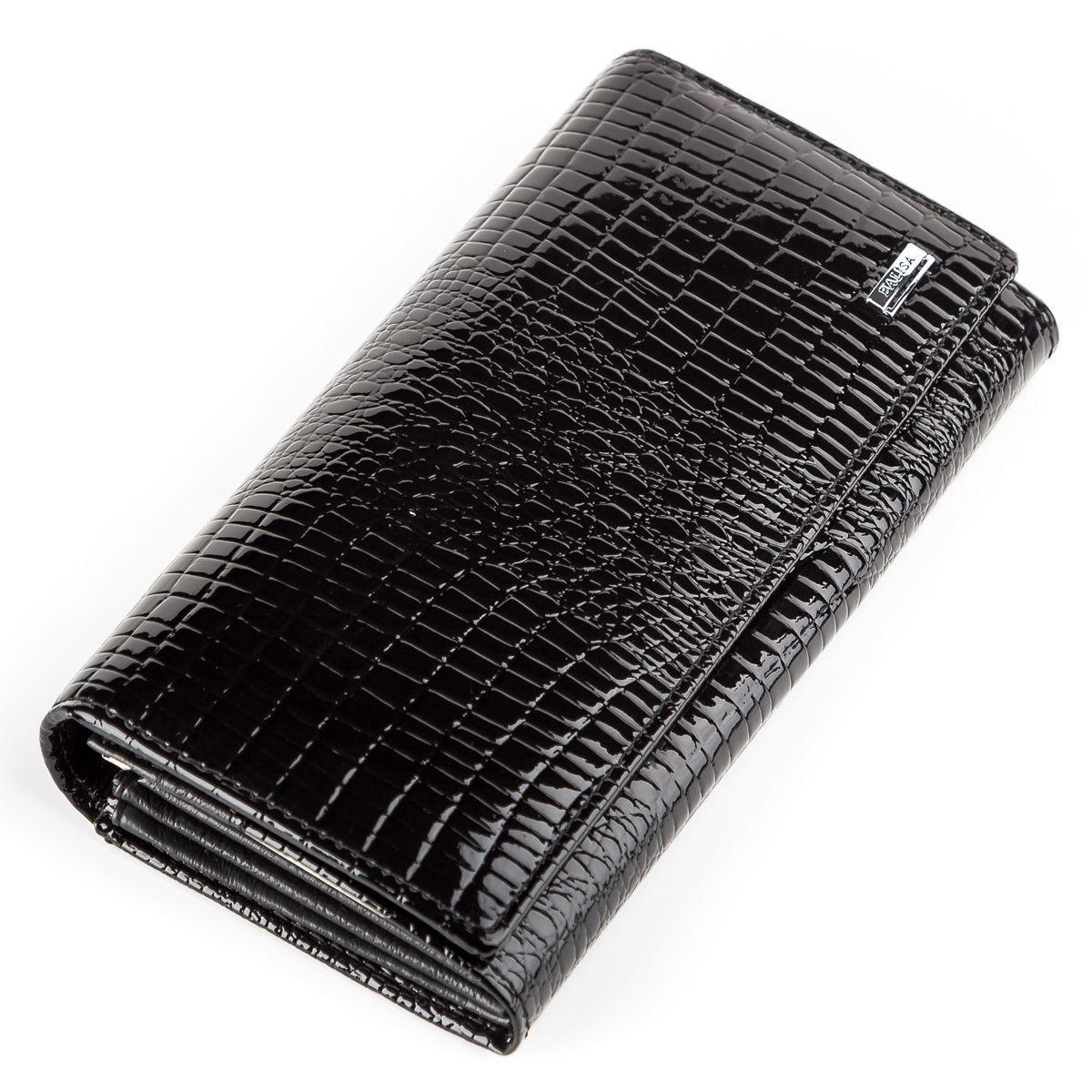 c804d321211c Кошелек женский BALISA 13853 кожаный Черный, Черный — только ...