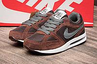 Кроссовки детские Nike Air Max, коричневые,  размер 32 (стелька 20 см)
