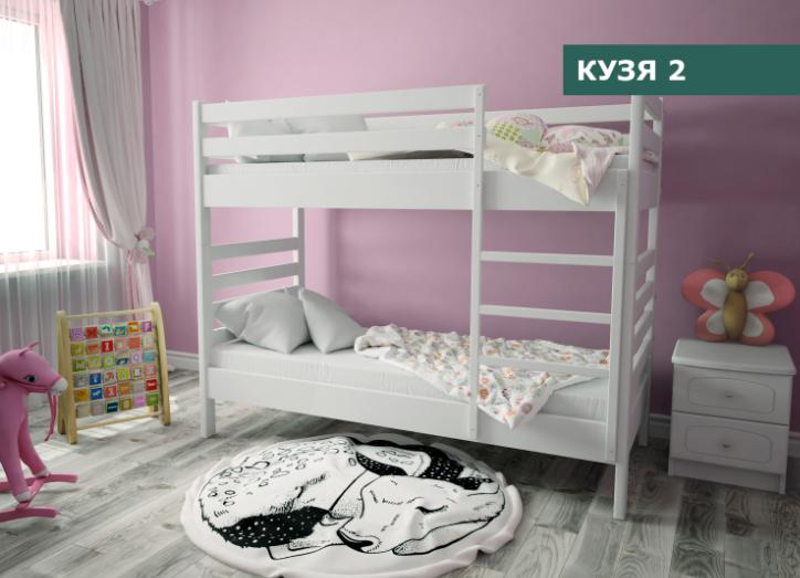 "Дитяче Ліжко ""Кузя 2"" Сосна (90х200)"