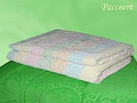 Простынь махровая ТМ Речицкий текстиль (Белоруссия), Рассвет 208х150 см