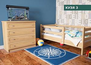"""Детская Кровать """"Кузя 3"""" Сосна (90х200)"""
