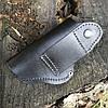 Кобура поясная ПМ МР654 (скоба) кожа, фото 4