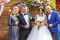 Дуэт ведущие яркого свадебного торжества Руслана и Сергей Магденко