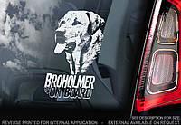 Брогольмер (Брохольмер) (Broholmer) стикер