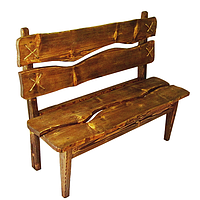 """Деревянная скамейки """"Под старину"""""""