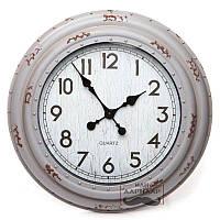 Часы настенные для интерьера Сирень